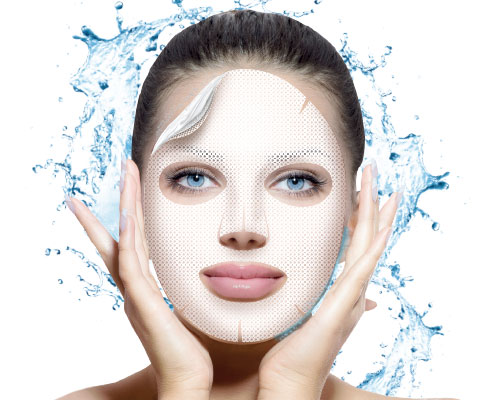 Deep feeding hydrogel mask with natural caviar