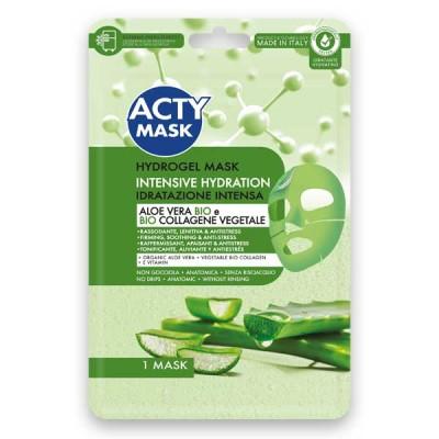 Maschera Hydrogel Idratazione Intensa con Aloe Vera e Bio e Bio Collagene Vegetale