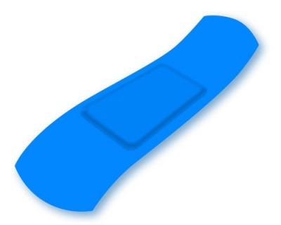 Blu detectable