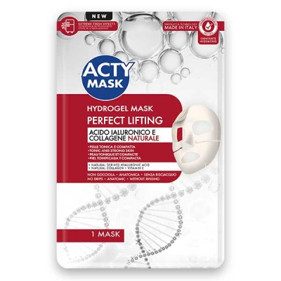 Maschera Hydrogel Perfect Lifting con Acido Ialuronico e Collagene Naturale