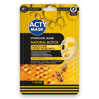 Maschera Hydrogel Natural Botox con Veleno d'Ape Naturale ed Acido Ialuronico