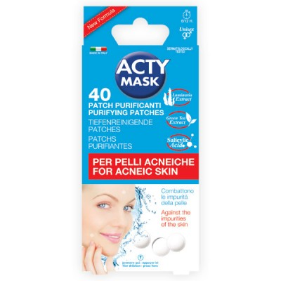 Purifying patch for acneic skin
