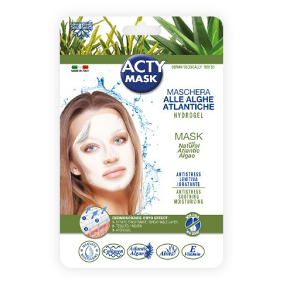 Maschera hydrogel antistress alle alghe atlantiche