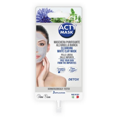 Purifying mask with white clay - 15 ml