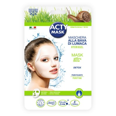 Purifying hydrogel mask with snail's slime