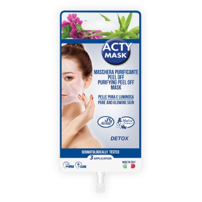 Maschera purificante peel off - 15 ml