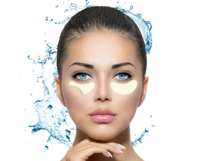 Filler hydrogel eyes contour patches with viper venom